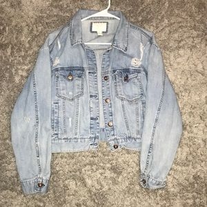 Jean Jacket from Forever 21 (worn once)